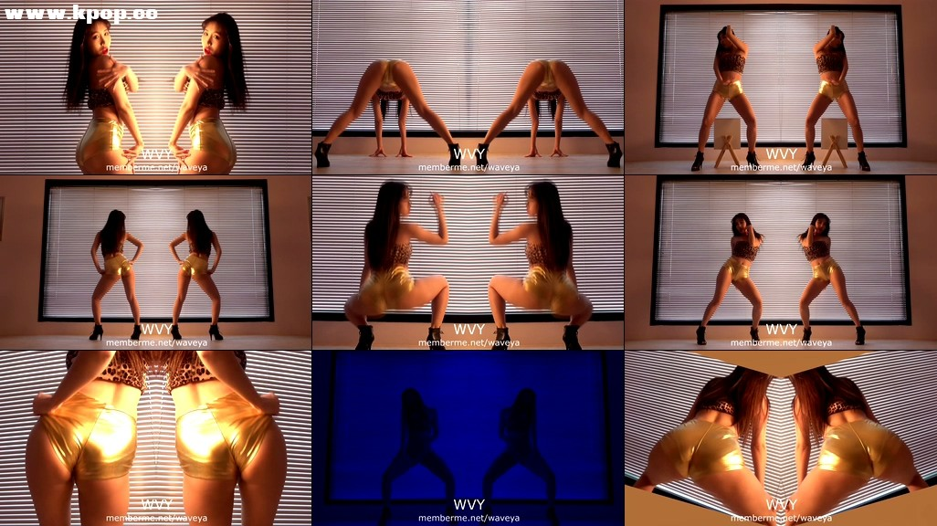 Booty MiU Twerk dance Waveya memberme会员-waveya